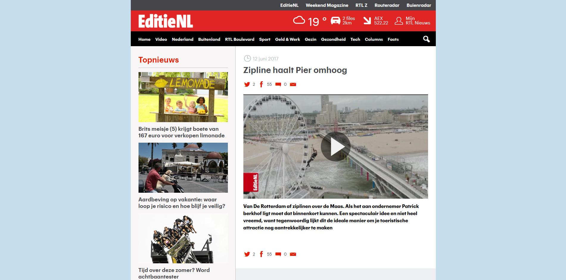 Zip Holland Editie NL